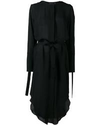 Vestido de seda negro de Calvin Klein