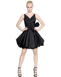 Vestido de Seda Negro de Dsquared2