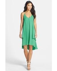 Vestido de tirantes verde de Rebecca Minkoff
