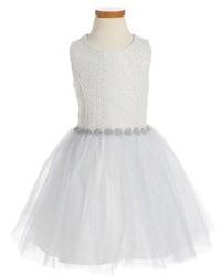 Vestido de tul blanco