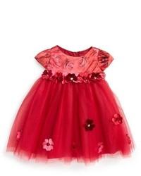 Vestido de tul rojo de Biscotti