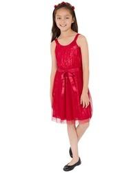 Vestido de tul rojo de Blush by Us Angels