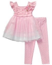 Vestido de tul rosado