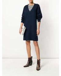 Vestido jersey azul marino de Rag & Bone