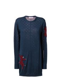 Vestido jersey azul marino de Sonia Rykiel