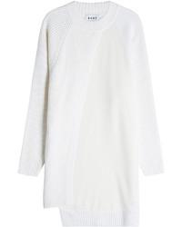Vestido jersey blanco