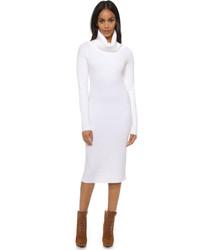 Vestido Jersey Blanco de DKNY