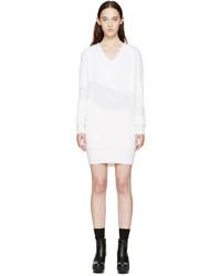 Vestido jersey blanco de Kenzo