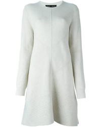 Vestido jersey blanco de Proenza Schouler