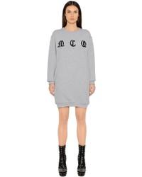 Vestido Jersey Bordado Gris de McQ by Alexander McQueen