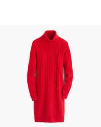 Vestido Jersey de Punto Rojo de J.Crew