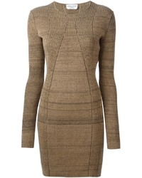 Vestido jersey marrón de Sonia Rykiel