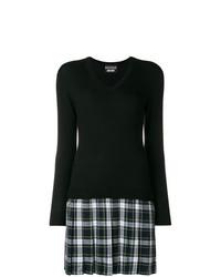 Vestido jersey negro de Boutique Moschino