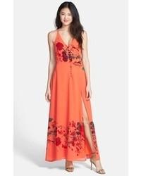 5b4803ff5 Comprar un vestido bordado naranja  elegir vestidos bordados ...