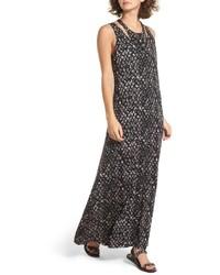760b5527ba Comprar un vestido largo estampado en gris oscuro de Nordstrom  elegir  vestidos largos estampados en gris oscuro más populares de mejores marcas