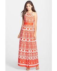 53dfae8342 Comprar un vestido largo estampado naranja de Nordstrom  elegir vestidos  largos estampados naranjas más populares de mejores marcas