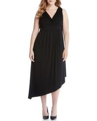 Vestido Largo Negro de Karen Kane