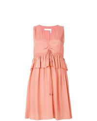 Vestido midi rosado de See by Chloe