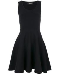 Vestido Negro de Dsquared2