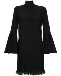 Vestido negro de Fendi
