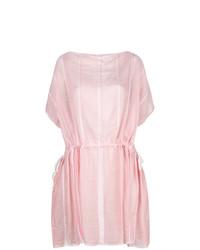 Vestido playero rosado de Lemlem