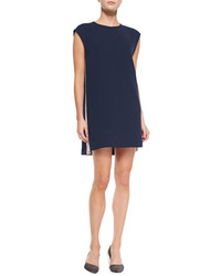 Vestido recto azul marino de Rebecca Minkoff