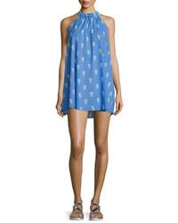 Vestido recto azul de Kate Spade