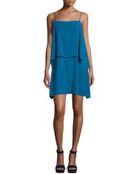 Vestido recto azul de Splendid