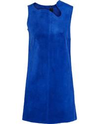 Vestido recto azul de Victoria Beckham