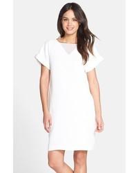 Vestido recto blanco de Andrew Marc