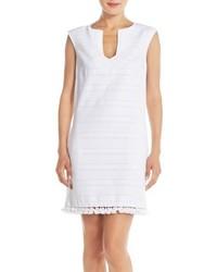 Vestido recto blanco de Trina Turk
