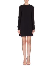 Vestido recto de encaje negro de Victoria Beckham