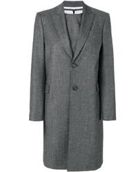 Vestido recto de lana gris de Dsquared2