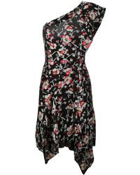 Vestido recto negro de Isabel Marant