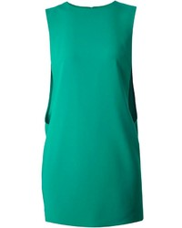 Vestido recto verde