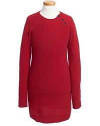 Vestido rojo de Burberry