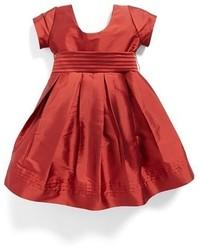 Vestido rojo de Isabel Garreton