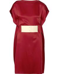 Vestido Rojo de MM6 MAISON MARGIELA