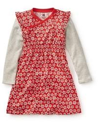 Vestido rojo de Tea Collection