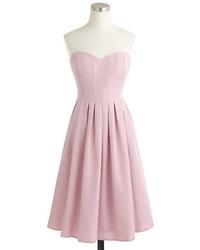 Vestido rosado de J.Crew