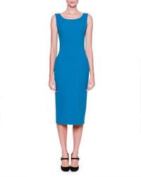 Vestido tubo azul de Dolce & Gabbana