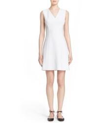 Vestido tubo blanco de Kate Spade