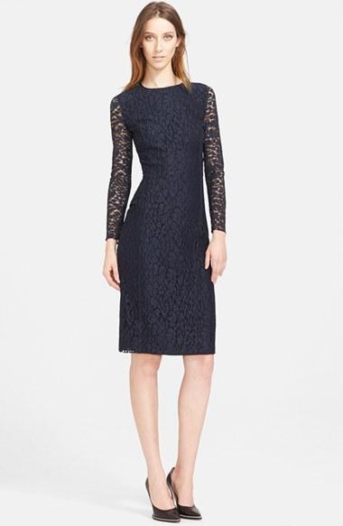 Como combinar un vestido azul marino de nina