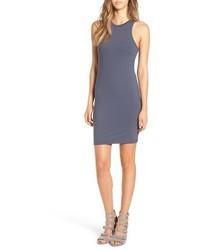 87bdc359a6 Comprar un vestido tubo de punto en gris oscuro  elegir vestidos ...