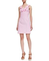 Vestido tubo rosado de Lilly Pulitzer
