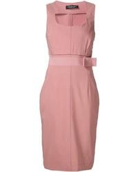 Vestido tubo rosado de Twin-Set