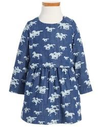 Vestido vaquero azul de Hatley
