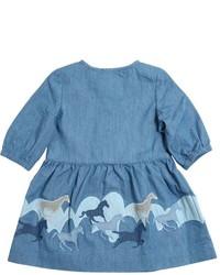 Vestido vaquero azul de Stella McCartney