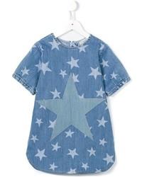 Vestido vaquero de estrellas azul de Stella McCartney