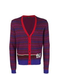 Prada V Neck Buttoned Cardigan